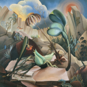 Hannah Höch: Berglandschaft, 1941, Öl auf Leinwand, Dr. Peter Heindlmeyer, Berlin, VG Bild-Kunst, Bonn 2017