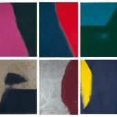 Andy Warhol: Shadows I, 1979 Portfolio mit 6 Siebdrucken mit Diamantenstaub auf Arches 88 Papier, 109,2 x 77,5 cm, Portfolio: 13/15 signiert und nummeriert Verso mit Bleistift Die Portfolios sind in diversen Variationen zusammengestellt. Jeder Druck ist ein Unikat. Gedruckt von: Rupert Jasen Smith, New York Herausgeber: Andy Warhol, New York Feldman/Schellmann/Defendi II.204-209
