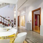 Das Foyer des Kunsthauses